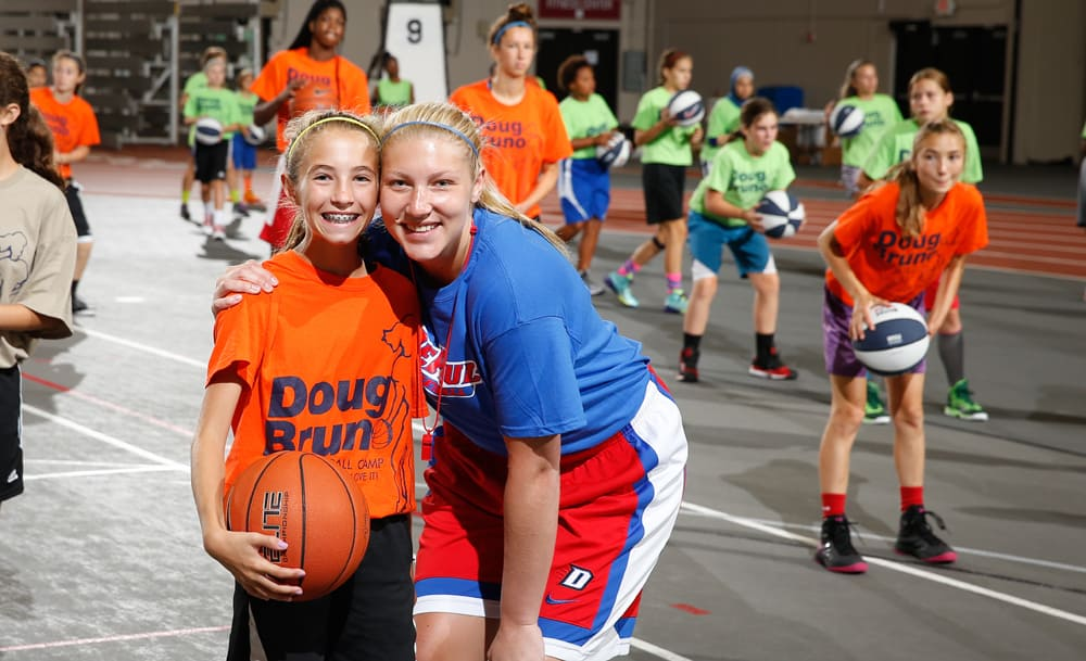 Doug Bruno Girls Basketball Camp Friendship