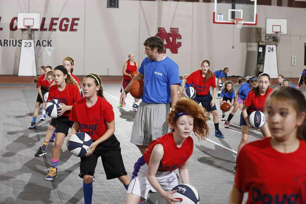 Doug Bruno Girls Basketball Camp Fundamentals